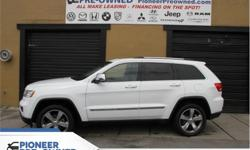 Make Jeep Model Grand Cherokee Year 2013 Colour White kms 139824 Trans Automatic Price: $26,288 Stock Number: HA1382 VIN: 1C4RJFCG1DC511382 Engine: 3.6L V6 Cylinder Engine Fuel: Gasoline Sunroof, Navigation, Cooled Seats, Bluetooth, Leather Seats! Check