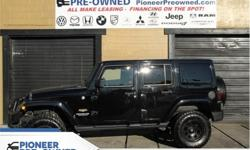 Make Jeep Model Wrangler Unlimited Year 2013 Colour Black kms 131071 Trans Automatic Price: $29,999 Stock Number: HA7301 VIN: 1C4BJWEG5DL657301 Engine: 285HP 3.6L V6 Cylinder Engine Fuel: Gasoline Premium Sound Package, Aluminum Wheels, Air Conditioning,