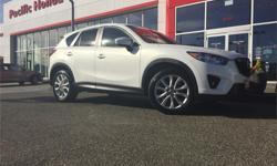 Make Mazda Model CX-5 Year 2013 Colour White kms 88000 Trans Automatic Price: $22,000 Stock Number: 7359Q Fuel: Gasoline Beautiful local 2013 Mazda CX-5 GT with factory warranty until JUNE 20, 2017 or 100,000 kms, whichever comes first. All 4 tires near