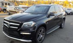 Make Mercedes-Benz Model GL-Class Year 2013 Colour Black kms 79318 Trans Automatic Stock #: BC0030549 VIN: 4JGDF7EE9DA221900 2013 Mercedes-Benz GL-Class GL63 AMG, 3rd row seating, 5.5L, 8 cylinder, 4 door, automatic, 4WD, 4-Wheel ABS, cruise control, air