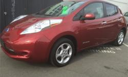 Make Nissan Model Leaf Year 2013 Colour Red kms 51461 Price: $15,988 Stock Number: 604-087b ONE WEEK ONLY - DRASTIC REDUCTION - PRICES SLASHED Imagine never buying gas or changing your oil ever again. This little car is in excellent condition and will