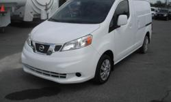 Make Nissan Model Nv200 Year 2013 Colour White kms 110218 Price: $13,950 Stock Number: BC0027236 Interior Colour: Black Cylinders: 4 Fuel: Gasoline 2013 Nissan Nv200 S Cube Cargo Van, 2.0L, 4 cylinder, 4 door, automatic, FWD, 4-Wheel AB, cruise control,