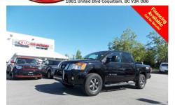 Trans Automatic 2013 Nissan Titan S has alloy wheels, running boards, fog lights, tinted rear windows, tow hitch, power locks/windows/mirrors/seats, steering wheel media controls, Bluetooth, A/C, CD player, SIRIUS radio, AM/FM stereo and so much more! STK