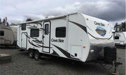 Price: $19,500 Stock Number: CST1502A 2013 Outdoors RV Creek Side 24BH