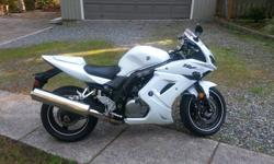 Hi All, I am selling my 2013 SV650s. This has been a fair weather bike only (Summer) and garage stored. It has just over 7500km, it's very clean and never dropped. It comes with a matching solo seat cover (and the original 2up seat) and I am including a