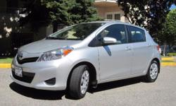 Make Toyota Model Yaris Year 2013 Colour Metallic Silver kms 10755 Trans Automatic LOW KMS, UNDER 11,000km on this 3-years-new vehicle! Excellent condition 2013 Toyota Yaris 4-door hatchback. Versatile, easy on gas, great for moving stuff and easy to