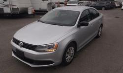 Make Volkswagen Model Jetta Year 2013 Colour Silver kms 72085 Price: $10,700 Stock Number: BC0027628 Interior Colour: Black Cylinders: 4 Fuel: Gasoline 2013 Volkswagen Jetta S, 2.0L, 4 cylinder, 4 door, automatic, FWD, 4-Wheel AB, AM/FM radio, CD player,