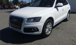 Make Audi Model Q5 Year 2014 Colour White kms 80255 Price: $36,995 Stock Number: B5220 Harbourview Autohaus is Vancouver Islands #1 Volkswagen dealership. A locally owned family business, The Wynia family have strived to make customer service a priority,