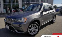 Make BMW Model X3 Year 2014 kms 73418 Trans Automatic Price: $24,888 Stock Number: 185457A VIN: 5UXWX9C56E0D09482 Engine: 241HP 2.0L 4 Cylinder Engine Fuel: Gasoline What this 2014 BMW X3 offers above all is superb maneuverability that is rarely seen in
