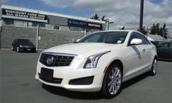 Make Cadillac Model ATS Year 2014 Colour White kms 52210 Trans Automatic Price: $32,995 Stock Number: C20575 Interior Colour: Brown Engine: 2.0L TURBO, I4, DI, DOHC, VVT Cylinders: 4 Fuel: Gasoline Victoria Only, One Owner, Clean 155 Point Inspection,