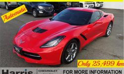 Make Chevrolet Model Corvette Stingray Year 2014 Colour Torch Red kms 25000 Price: $52,900 VIN: 1G1YD2D71E5132584 Interior Colour: Jet Black Engine: 6.2L V8 F DOHC 16V Cylinders: 8 Fuel: Gasoline Check out this 2014 Chevrolet Corvette 2LT in the awesome