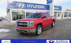 Make Chevrolet Model Silverado 1500 Year 2014 Colour Victory Red kms 88100 Trans Automatic OPTIONS: air, tilt, cruise, AM/FM/CD/MP3, ABS brakes, alloy wheels, backup camera, bluetooth, daytime running lights, door map pockets, stability control, fold down