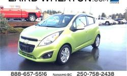 Make Chevrolet Model Spark Year 2014 Colour Jalapeno Metallic kms 99115 Trans Automatic Price: $8,500 Stock Number: 81839 VIN: KL8CB6S96EC410368 Engine: Gas I4 1.2L/76 Cylinders: 4 Fuel: Gasoline IIHS Top Safety Pick. This Chevrolet Spark delivers a Gas