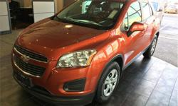 Make Chevrolet Model Trax Year 2014 Colour Orange kms 102855 Trans Manual Price: $12,900 Stock Number: 6692A VIN: 3GNCJKEB1EL115479 Interior Colour: Black Engine: ECOTEC Turbo 1.4L VVT DOHC 4-cyl MFI Fuel: Gasoline 6-Speed Manual. Ecotec Turbocharged