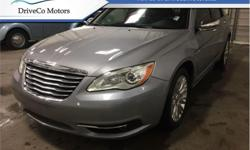 Make Chrysler Model 200 Year 2014 Colour Granite Crystal kms 51042 Trans Automatic Price: $13,995 Stock Number: U4423 VIN: 1C3CCBCG9EN194423 Engine: 283HP 3.6L V6 Cylinder Engine Fuel: Gasoline Offering Bluetooth Streaming Audio, 40GB Hard Drive, Audio