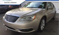 Make Chrysler Model 200 Year 2014 Colour Gold kms 74722 Trans Automatic Price: $10,888 Stock Number: 16D3178A VIN: 1C3CCBAB9EN145715 Interior Colour: Tan Engine: 173HP 2.4L 4 Cylinder Engine Cylinders: 4 Fuel: Gasoline Air Conditioning, Steering Wheel