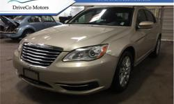 Make Chrysler Model 200 Year 2014 kms 46347 Trans Automatic Price: $12,888 Stock Number: 16D3345A VIN: 1C3CCBAB2EN230105 Engine: 173HP 2.4L 4 Cylinder Engine Fuel: Gasoline The 2014 Chrysler 200 offers an impressive interior of quality materials and
