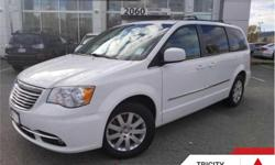 Make Chrysler Model Town & Country Year 2014 Colour White kms 121930 Trans Automatic Price: $16,995 Stock Number: TCP6632A VIN: 2C4RC1BG3ER117227 Engine: 283HP 3.6L V6 Cylinder Engine Fuel: Gasoline Rear View Camera, Power Tailgate, SiriusXM, Steering