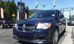 Make Dodge Model Grand Caravan Year 2014 Colour Blue kms 57485 Trans Automatic Price: $22,995 Stock Number: K20447 Galaxy Motors is the #1 used car dealership on Vancouver Island with 5 locations to serve you in Colwood, Duncan, Nanaimo, Courtenay and now