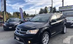 Make Dodge Model Journey Year 2014 Colour Black kms 76000 Trans Automatic Seats 7! This 2014 Dodge Journey Limited is the perfect mix of space and style! Come check it out HERE at Colwood Car Mart! We finance! 2 paystubs and you're approved! FAMILY OWNED