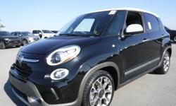 Make Fiat Model 500L Year 2014 Colour Black kms 75240 Trans Automatic Stock #: BC0030539 VIN: ZFBCFADHXEZ025415 2014 Fiat 500L Trekking, 1.4L, 4 cylinder, 4 door, automatic, FWD, 4-Wheel ABS, cruise control, air-conditioning, AM/FM radio, SD/USB/AUX,