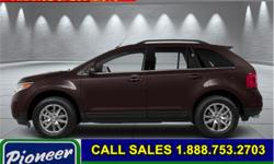 Make Ford Model Edge Year 2014 Colour Brown kms 101000 Trans Automatic Stock Number: BA5315 VIN: 2FMDK4JC5EBA55315 Engine: 285HP 3.5L V6 Cylinder Engine Fuel: Gasoline Bluetooth, Heated Seats, SYNC, SiriusXM, Steering Wheel Audio Control! At Pioneer