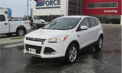 Make Ford Model Escape Year 2014 Colour White kms 92253 Trans Automatic Price: $19,998 Stock Number: 124331 VIN: 1FMCU9GX7EUC71528 Interior Colour: Black Cylinders: 4 - Cyl Fuel: Gasoline This 2014 Ford Escape 5 Passenger 4X4 SUV has a 6-speed automatic
