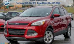 Make Ford Model Escape Year 2014 Colour Red kms 66574 Trans Automatic Price: $19,998 Stock Number: 18119N VIN: 1FMCU9G90EUA09075 Engine: 231HP 2.0L 4 Cylinder Engine Cylinders: 4 Fuel: Gasoline Bluetooth, Heated Seats, Rear View Camera, SYNC, SiriusXM!