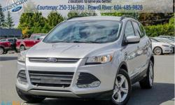 Make Ford Model Escape Year 2014 Colour Silver kms 72247 Trans Automatic Price: $18,988 Stock Number: 18079A VIN: 1FMCU0GXXEUE43658 Engine: 173HP 1.6L 4 Cylinder Engine Cylinders: 4 Fuel: Gasoline Bluetooth, Heated Seats, Rear View Camera, SYNC,