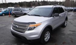 Make Ford Model Explorer Year 2014 Colour Gray kms 174860 Trans Automatic Stock #: BC0030839 VIN: 1FM5K8B88EGB69629 2014 Ford Explorer Base 4WD, 3.5L, 6 cylinder, 4 door, automatic, 4WD, 4-Wheel ABS, cruise control, air conditioning, AM/FM radio, CD