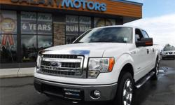 Make Ford Model F-150 Year 2014 Colour White kms 10763 Trans Automatic Price: $37,995 Stock Number: J20559 Interior Colour: Grey Engine: 3.5L V6 ECOBOOST Cylinders: 6 Fuel: Gasoline BC Only, Accident Free, Backup Camera, Remote Start, SYNC, Tow Pkg,