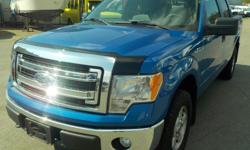 Make Ford Model F-150 Year 2014 Colour Blue kms 216549 Trans Automatic Stock #: BC0030405 VIN: 1FTFW1EF1EFC55675 2014 Ford F-150 XLT SuperCrew Short Box 4WD, 5.0L, 8 cylinder, 4 door, automatic, 4WD, 4-Wheel AB, cruise control, air conditioning, AM/FM
