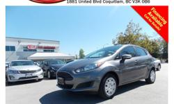 Trans Automatic 2014 Ford Fiesta SE has power windows/locks/mirrors/seats, steering wheel media controls, Bluetooth, dual control heated seats, CD player, A/C, AM/FM radio, rear defrost and more!!! STK # PP0266 DEALER #31228 Need to finance? Not a