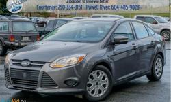 Make Ford Model Focus Year 2014 Colour Grey kms 61965 Trans Automatic Price: $10,988 Stock Number: 17611A VIN: 1FADP3F29EL297479 Engine: 2.0L 4 Cylinder Engine Cylinders: 4 Fuel: Gasoline Bluetooth, SYNC, Air Conditioning, Steering Wheel Audio Control,