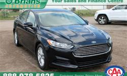 Make Ford Model Fusion Year 2014 Colour Black kms 86978 Trans Automatic Price: $17,915 Stock Number: 6761A Interior Colour: Grey Engine: 2.5L 4 cyls Cylinders: 4 Fuel: Gasoline INTERESTED? TEXT 3062016848 WITH 6761A FOR MORE INFORMATION! $17915 - 2014