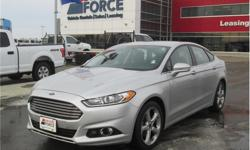 Make Ford Model Fusion Year 2014 Colour Silver kms 54086 Trans Automatic Price: $15,900 Stock Number: 121744 VIN: 1FA6P0H76E5394434 Interior Colour: Black Cylinders: 4 - Cyl Fuel: Gasoline This 2014 Ford Fusion SE 5 Passenger Sedan has power door locks,