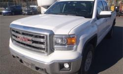 Make GMC Model Sierra 1500 Year 2014 Colour White kms 69678 Price: $28,900 Stock Number: BC0027151 Interior Colour: Black Cylinders: 8 Fuel: Gasoline 2014 GMC Sierra 1500 SLE Ext. Cab Short Box 4WD, 5.3L, 8 cylinder, 4 door, automatic, reverse camera,