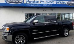 Make GMC Year 2014 Colour Rob Trans Automatic kms 78338 This LOW KM GMC Sierra 1500 SLT is beautifully trimmed with black leather interior matched with the brilliant jet black paint. With just under 80,000kms this truck is barely broken in, and waiting