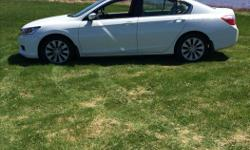 Make Honda Model Accord Year 2014 Colour Summit White kms 67200 Trans Automatic NEED GONE! Reduced price by $2,500 Selling this beautiful sharp looking car, 2014 Honda Accord options: Heated seats Back up camera Air conditioning Power options USB/AUX and
