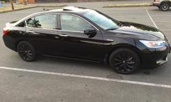 Make Honda Colour Black Trans Automatic kms 47000 Perfect condition honda accord purchased brand new from campus honda in early 2014 for 37500+plus tax and fees All service history Well maintained One owner 50mpg city / 45mpg highway