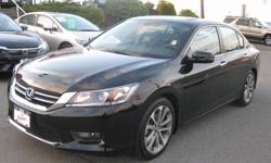 Make Honda Colour Black Trans Automatic kms 11284 Beautiful, classy like NEW Honda Accord... Save thousands of new price almost, with very low km's 11,284 km's. heated seats, backup camera, alloy wheels , 2.4 L and so much more. Call or text Dan for more