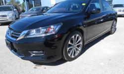 Make Honda Model Accord Colour BLACK Trans Automatic kms 43000 ONLY 43,000 KM, BALANCE OF HONDA WARRANTY, 4 CYL, AUTO, 4 DOOR, SUNROOF, ALLOYS, BLUETOOTH, REAR CAMERA, HEATED SEATS, STEERING WHEEL CONTROLS, LOADED, MUCH MORE, FAMILY OWNED AND OPERATED
