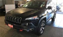 Make Jeep Model Cherokee Year 2014 kms 92289 Price: $29,998 Stock Number: 18086A VIN: 1C4PJMBS7EW101090 Engine: 3.2L V6 24V VVT Fuel: Regular Unleaded Panoramic sunroof. Adjustable 4WD. Backup camera. Thule roof-rack. Leather interior. At Duncan Dodge we