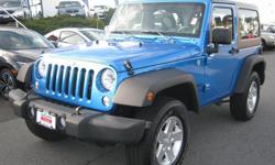 Make Jeep Model Wrangler Year 2014 Colour Blue kms 10923 Trans Automatic Wow.. Like new Wrangler, get ready for summer with this all purpose Four wheel drive Jeep, enjoy the top off with hot weather ahead. Save thousands of new price for a very seldom