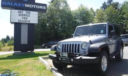 Make Jeep Model Wrangler Year 2014 Colour Grey kms 15153 Trans Automatic Price: $31,465 Stock Number: S20258 Interior Colour: Black Galaxy Motors is the #1 used car dealership on Vancouver Island with 5 locations to serve you in Colwood, Duncan, Nanaimo,