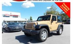Trans Manual 2014 Jeep Wrangler Sport with alloy wheels, fog lights, running boards, CD player, AM/FM stereo, rear defrost and so much more! STK # PP0211 DEALER #31228 Need to finance? Not a problem. We finance anyone! Good credit, Bad credit, No credit.