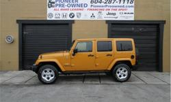 Make Jeep Model Wrangler Unlimited Year 2014 Colour Gold kms 74500 Trans Automatic Price: $29,999 Stock Number: 18U4612A VIN: 1C4BJWEG6EL169122 Engine: 285HP 3.6L V6 Cylinder Engine Fuel: Gasoline 2014 Jeep Wrangler Sahara! Buying a vehicle can be a