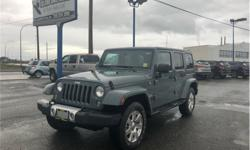 Make Jeep Model Wrangler Unlimited Year 2014 Colour Grey kms 78150 Trans Automatic Price: $31,935 Stock Number: 2910 VIN: 1C4BJWEG7EL276535 Interior Colour: Black Engine: 3.6L V6 Engine Configuration: V-shape Cylinders: 6 Fuel: Regular Unleaded NO