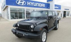 Make Jeep Year 2014 Colour Black Trans Automatic kms 98951 OPTIONS: air, cruise, tilt, intermittent wipers, alloy wheels, aux 12v outlet, tinted windows, leather wrap wheel, running boards, daytime running lights, ABS, cloth seating, heated front seats,