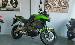 2014 Kawasaki Versys 650. Green. 4075km. $6599. Clean title bike. No accidents or liens. Local bike. Warranty until May 2016. Buy with confidence from a Genuine Dealership. Contact Ryan at Daytona Motorsports in Vancouver at 604-251-1212. We finance!